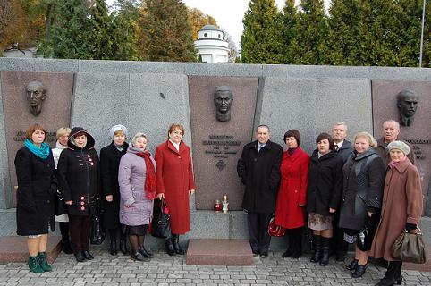 27 жовтня 2016 року Рогатинська гімназія вшанувала пам'ять першого директора Михайла Галущинського - видатного педагога, громадського діяча