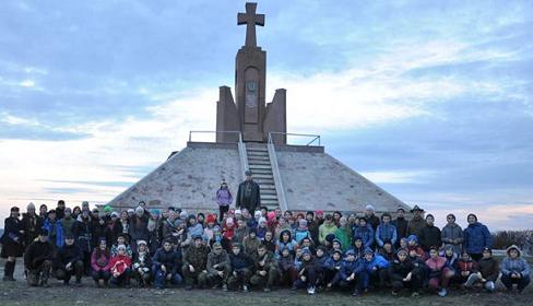 4 листопада пластуни області зібралися на військово-історичному вишколі, вшановуючи творців Листопадового Зриву