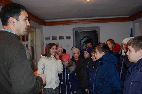 25 листопада гімназію відвідала група дітей з Бурштинської ЗОШ №3