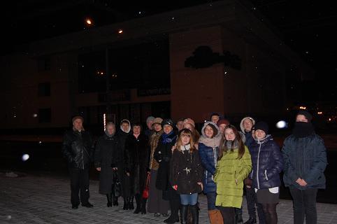 15 грудня учні та вчителі гімназії відвідали Івано-Франківський драматичний театр ім.Івана Франка
