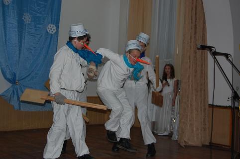Святий Миколай завітав до гімназії