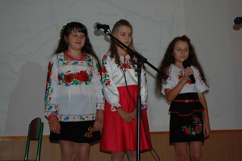 Виховний захід присвячений 75-й річниці заснування УПА