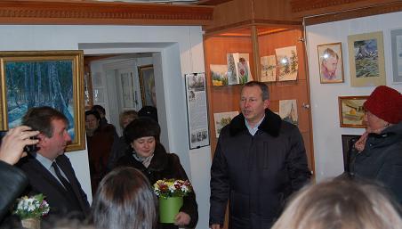 Персональна виставка Ігоря Васильовича Люльки