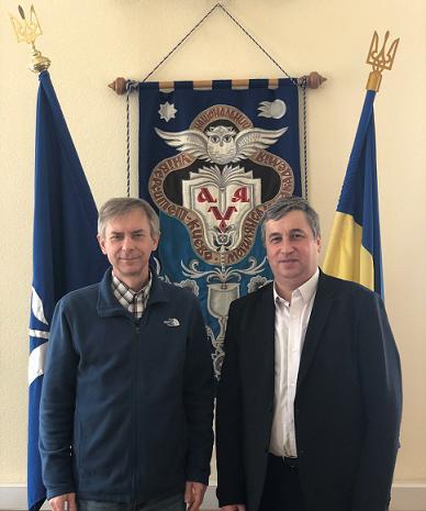 Співпраця Рогатинської гімназії з НаУКМА продовжується