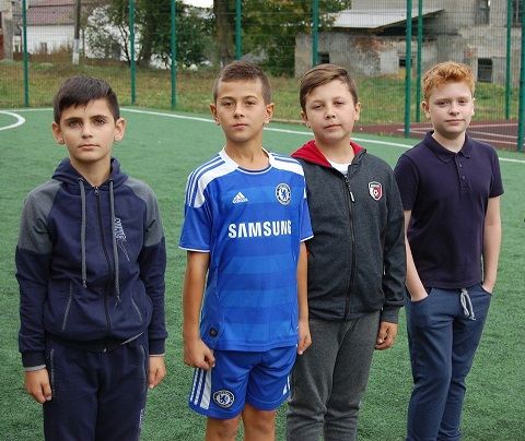 Змагання юних козачат