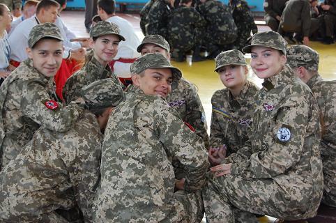 """Всеукраїнська дитячо-юнацька військово-патріотична гра """"Сокіл"""" (""""Джура"""")"""