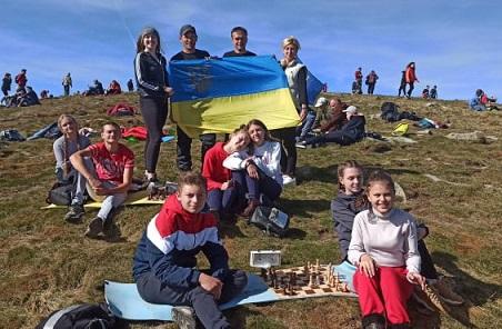 Перший Всеукраїнський шаховий турнір на горі Говерла + ВІДЕО
